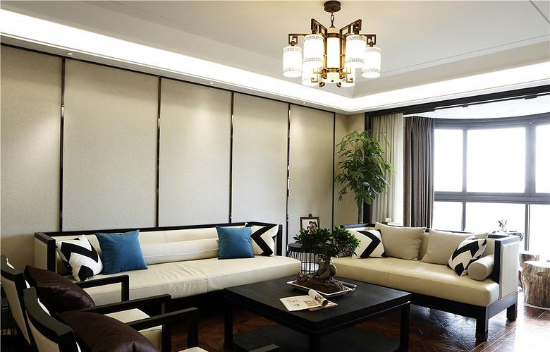 新中式 典雅 魅力 三居 小资图片来自思雨易居设计-包国俊在典雅魅力 102平新中式淡雅3居的分享