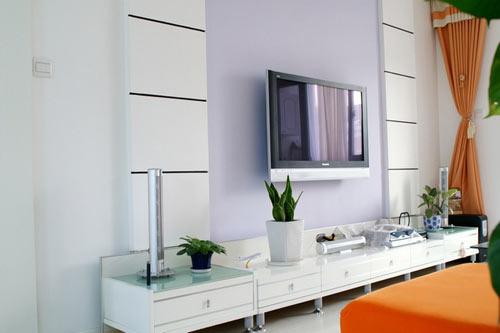三居 别墅 80后 客厅图片来自上海实创-装修设计效果图在上海102平米现代简约风格的分享