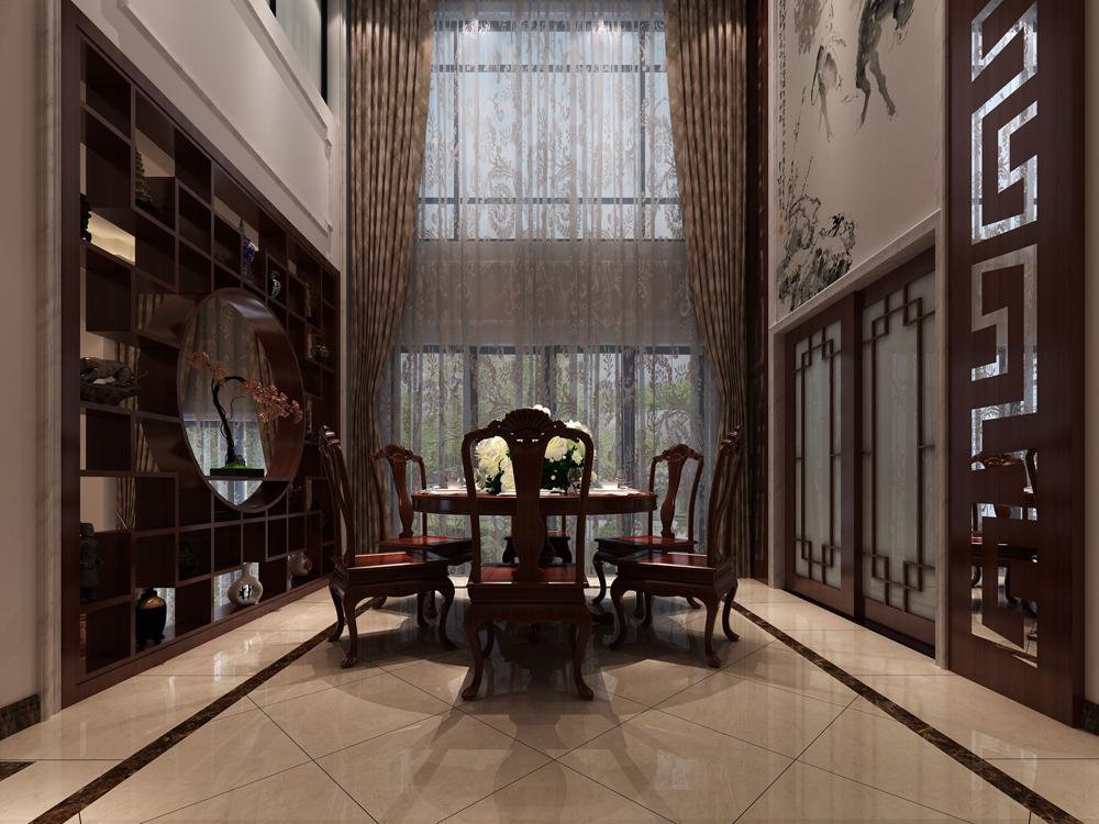 餐厅图片来自广州名雕装饰在空间简单明显,设计自然的分享