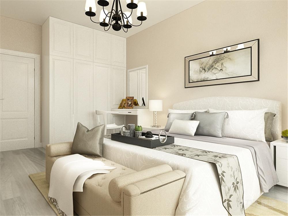 现代 二居 白领 收纳 80后 小资 卧室图片来自阳光力天装饰在力天装饰-景兴西里85㎡的分享