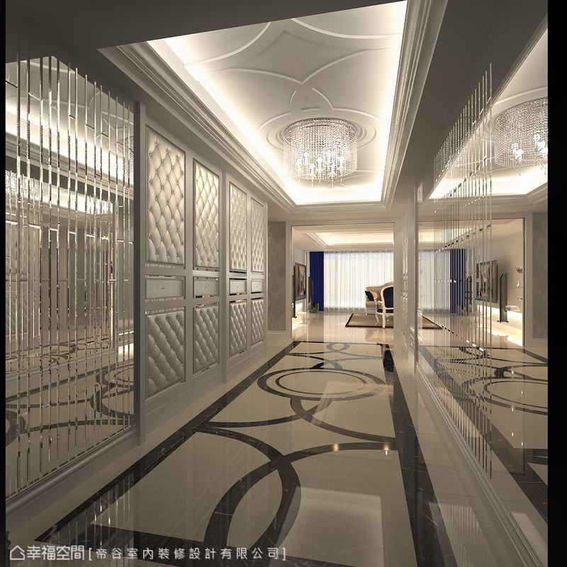 简约 三居 新古典 小资 玄关图片来自幸福空间在230平古典奢华宫廷典雅时尚的分享