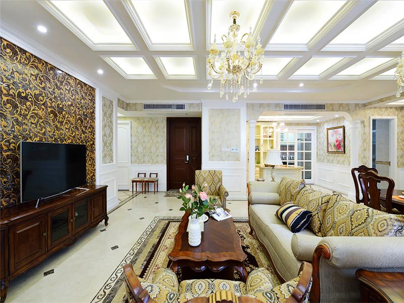 三居 欧式古典 玄关图片来自北京精诚兴业装饰公司在三里河一区的分享