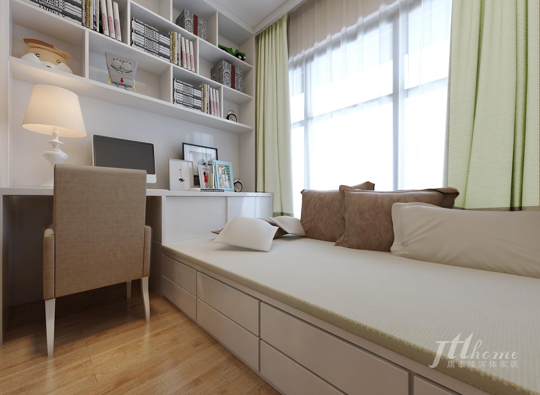简约 三居 宜居 舒适 温馨 书房图片来自居泰隆深圳在振业天峦现代简约 三居室的分享