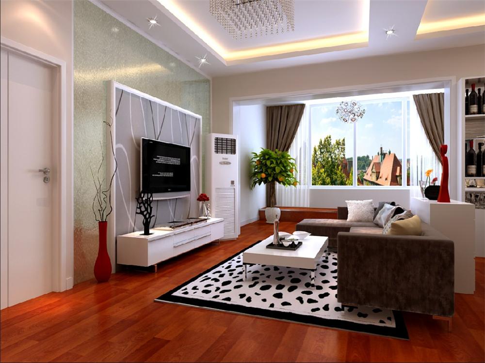 简约 客厅图片来自实创装饰完美家装在K2玉兰湾90平简约时尚案例鉴赏的分享