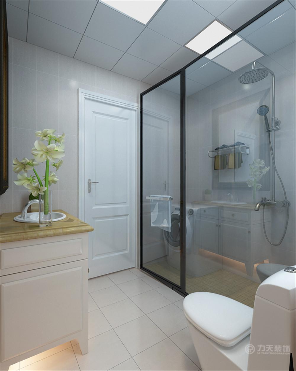 简约 二居 白领 收纳 80后 小资 卫生间图片来自阳光力天装饰在力天装饰-日华里96㎡的分享