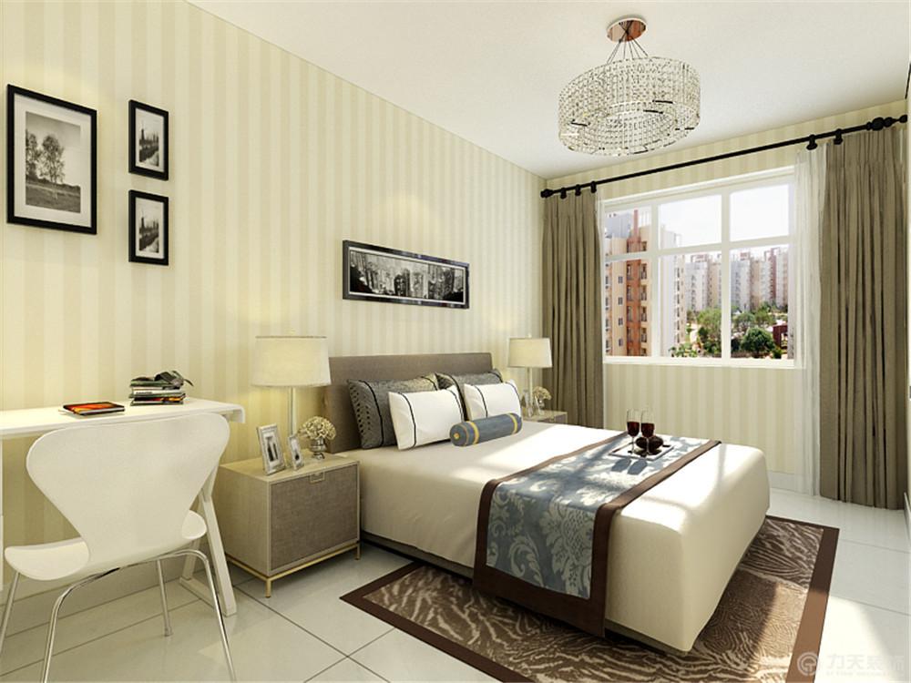 三居 简约 卧室图片来自阳光力天装饰梦想家更爱家在海都园  现代简约的分享
