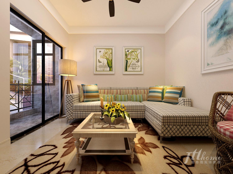 简约 二居 宜居 舒适 温馨 客厅图片来自居泰隆深圳在振业天峦  现代简约 二居室的分享