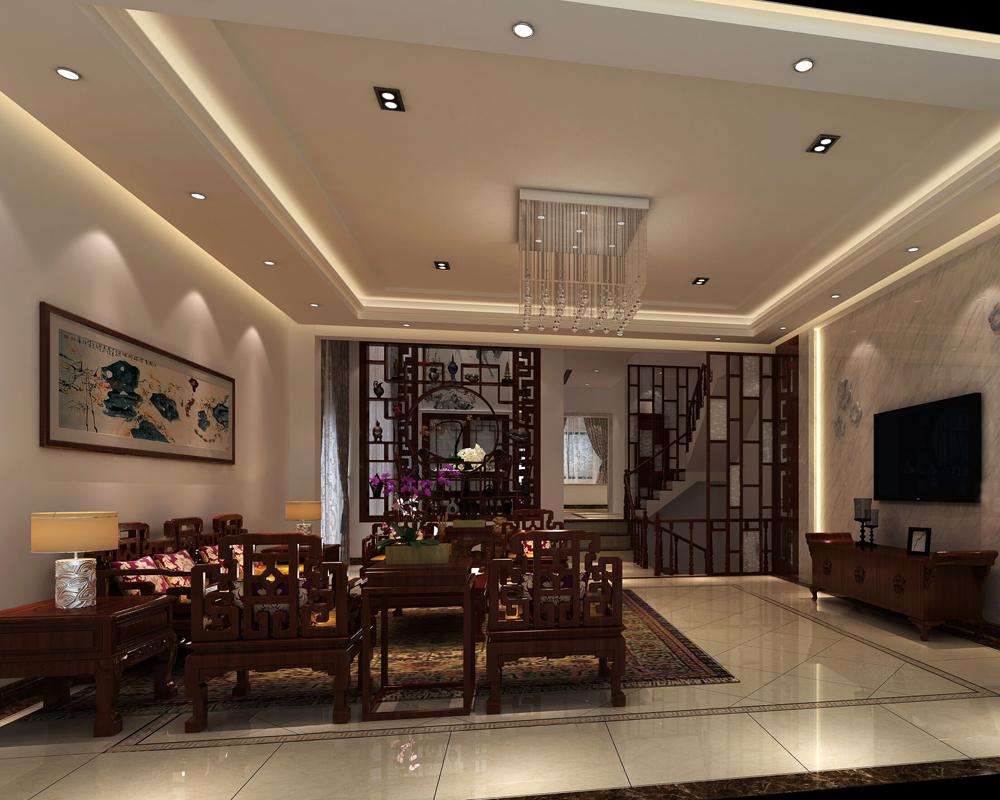 客厅图片来自名雕装饰长沙分公司在让空间简单明显,设计自然的分享