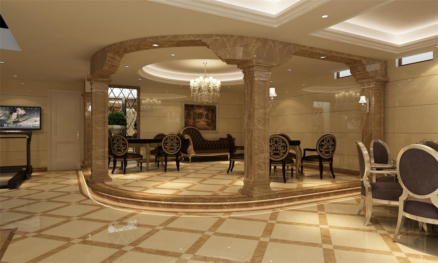 保利叶城 别墅装修 别墅设计 欧式古典 腾龙设计 其他图片来自腾龙设计在保利叶城172号别墅装修设计方案的分享
