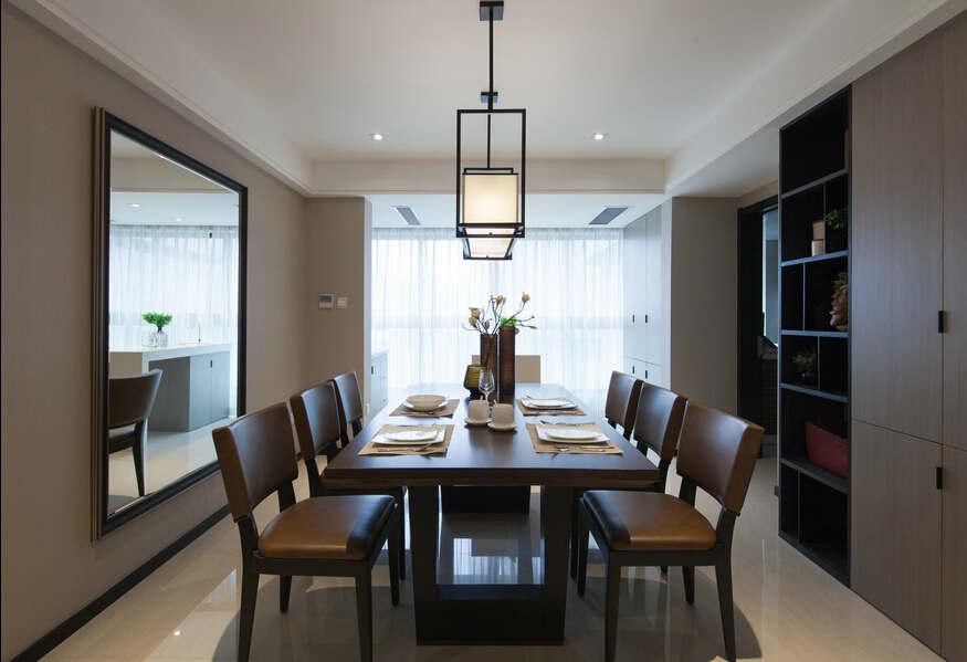 简约 欧式 混搭 四居室 白领 80后 小资 保利康桥 餐厅图片来自成都V2装饰在保利康桥时尚混搭风格的分享