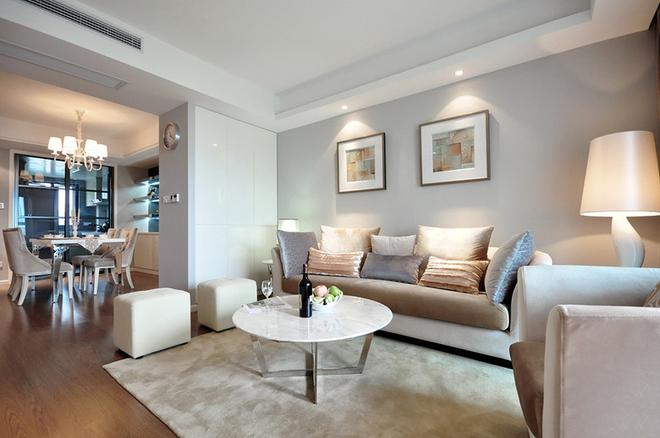 简约 欧式 三居 曹杨三村 客厅图片来自实创装饰上海公司在107平3居简欧美家的分享