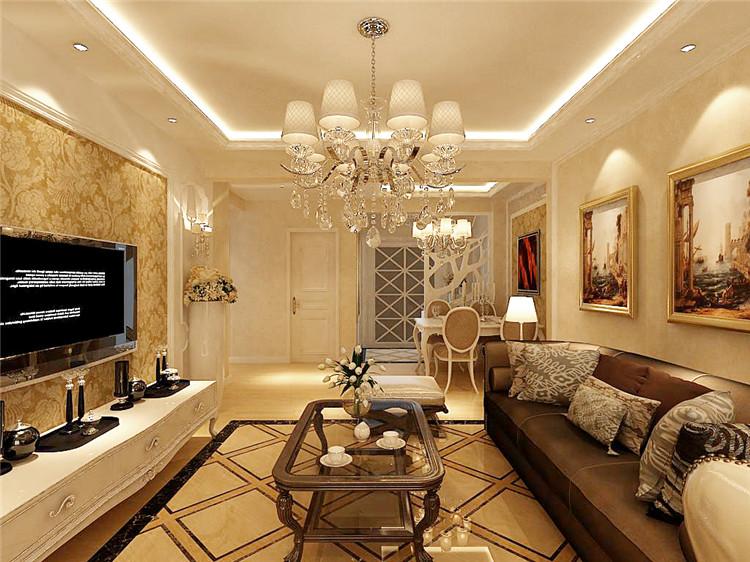 客厅图片来自百家装饰-小李在保利海上五月花106平欧式风格的分享