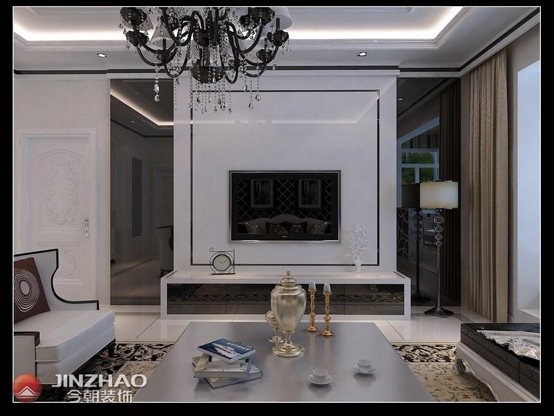 欧式 客厅图片来自阿布的小茅屋15034052435在奥龙湾170平米--简欧的分享