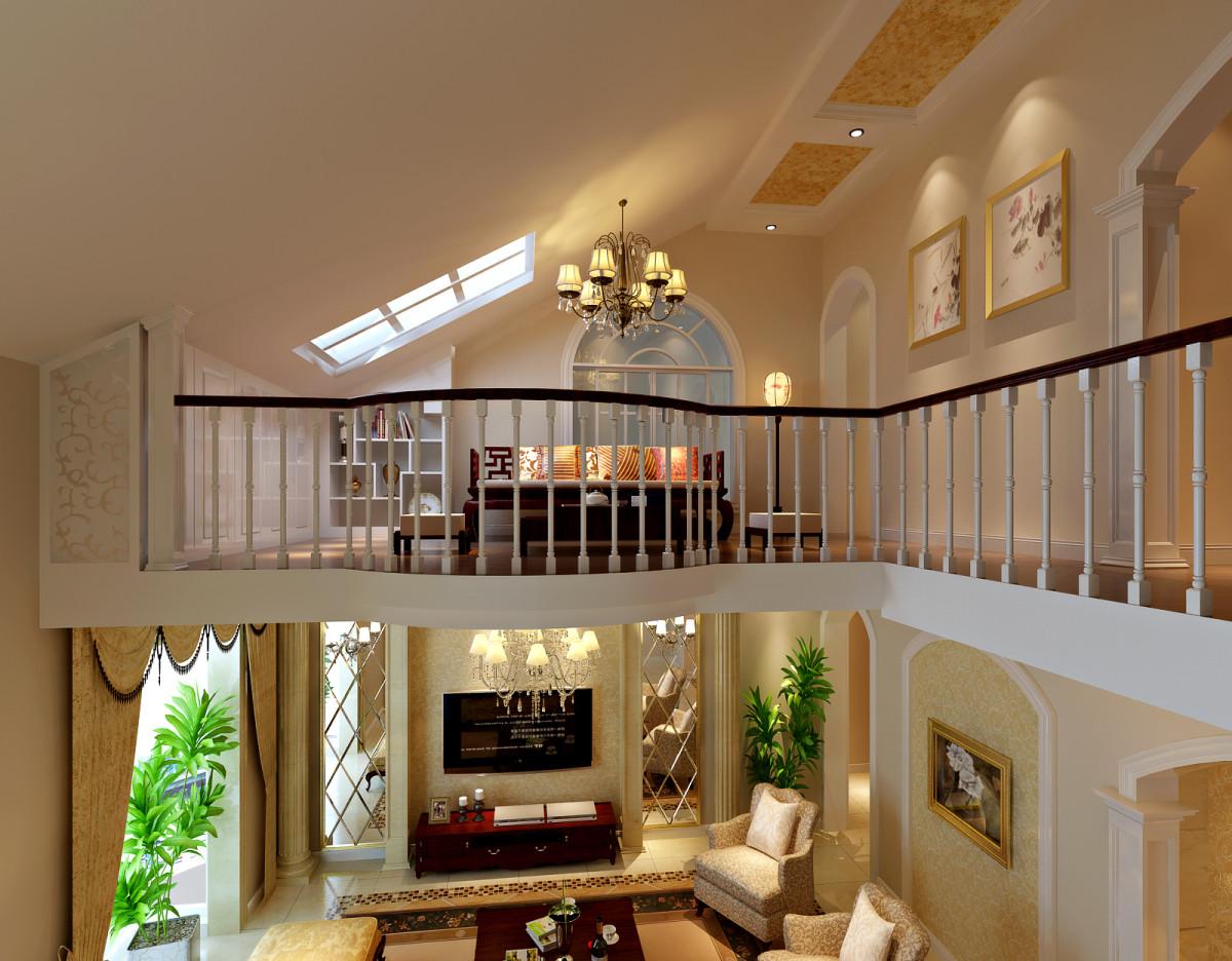楼梯图片来自fy1160721905在金色漫香林别墅欧式风格案例的分享