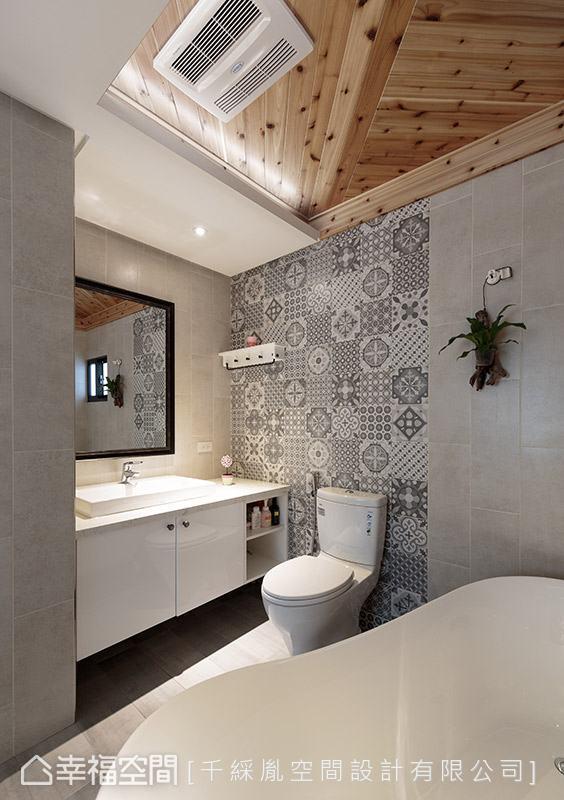 简约 三居 乡村 小资 旧房改造 卫生间图片来自幸福空间在150平~老屋变身乡村风味宅的分享