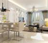 此套房型的装修采用了现代简约的装修风格。 现代简约就是简化了的装修风格。