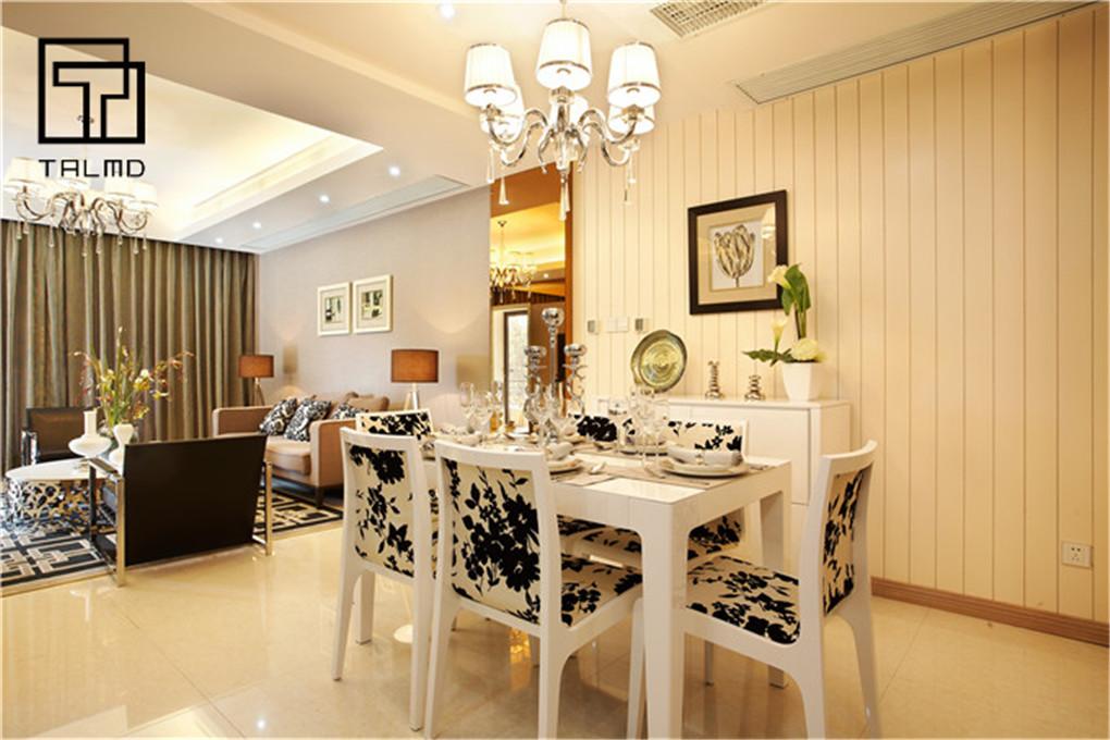 家具定制 餐厅图片来自TALMD图迈家居在【TALMD案例】现代风格·上饶御景的分享