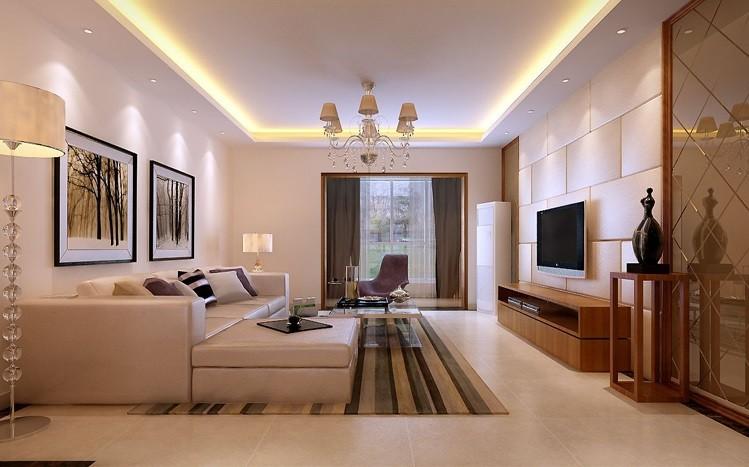 客厅图片来自fy1160721905在首座御园 三居室 现代简约的分享