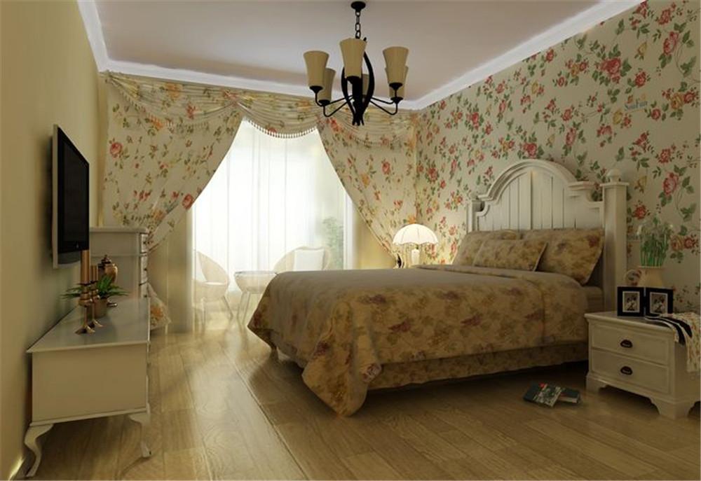 卧室图片来自fy1160721905在108平欧式田园风格的分享