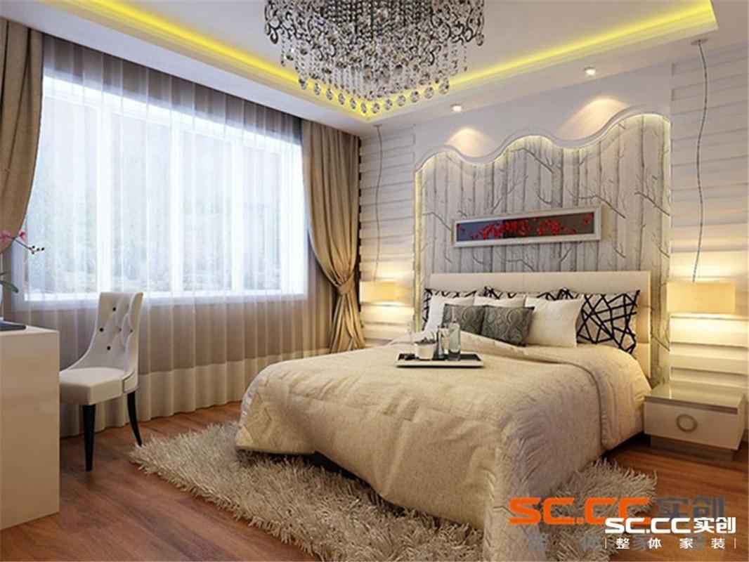 正商明钻 现代简约 三居 卧室图片来自郑州实创装饰啊静在正商明钻暖暖现代简约三居的分享