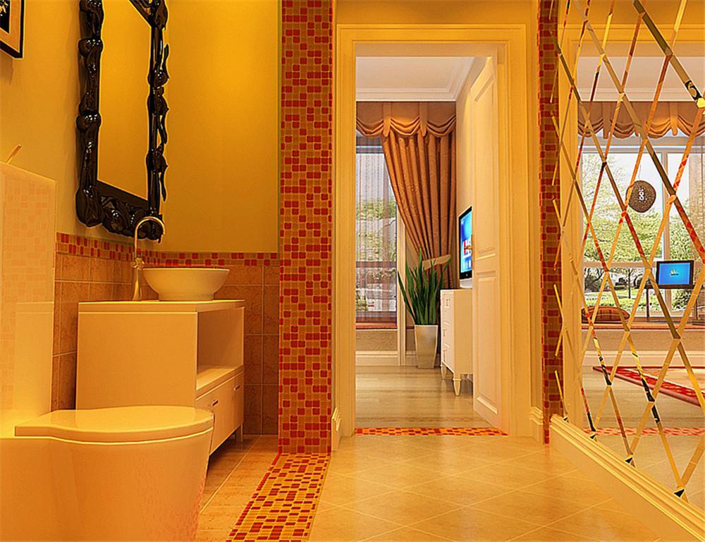 卫生间图片来自fy1160721905在中弘北京像素75平美式风格的分享