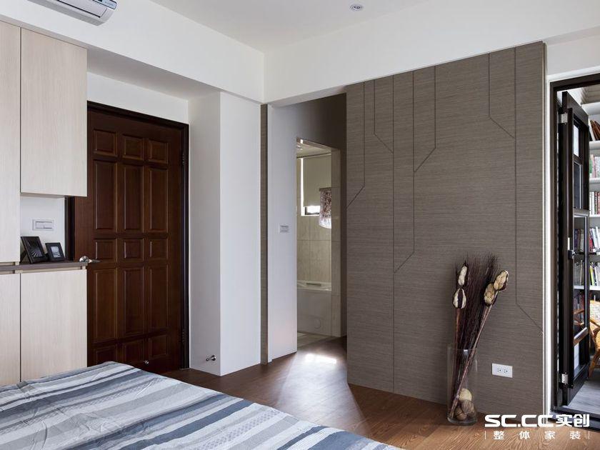 三居 140平 美式 清新 白色 客厅 卧室 餐厅 飘窗 卧室图片来自实创装饰晶晶在140平美式三居小清新格调的分享