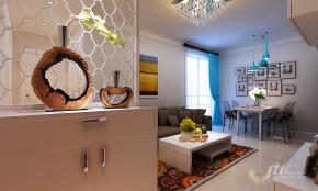 简约 二居 宜居 舒适 温馨 玄关图片来自居泰隆深圳在振业 天峦现代简约二居室的分享