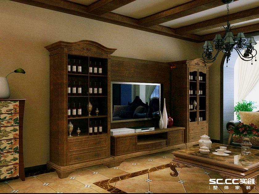 简约 欧式 别墅 白领 收纳 80后 小资 客厅图片来自实创装饰百灵在奢华柔美高贵范的分享