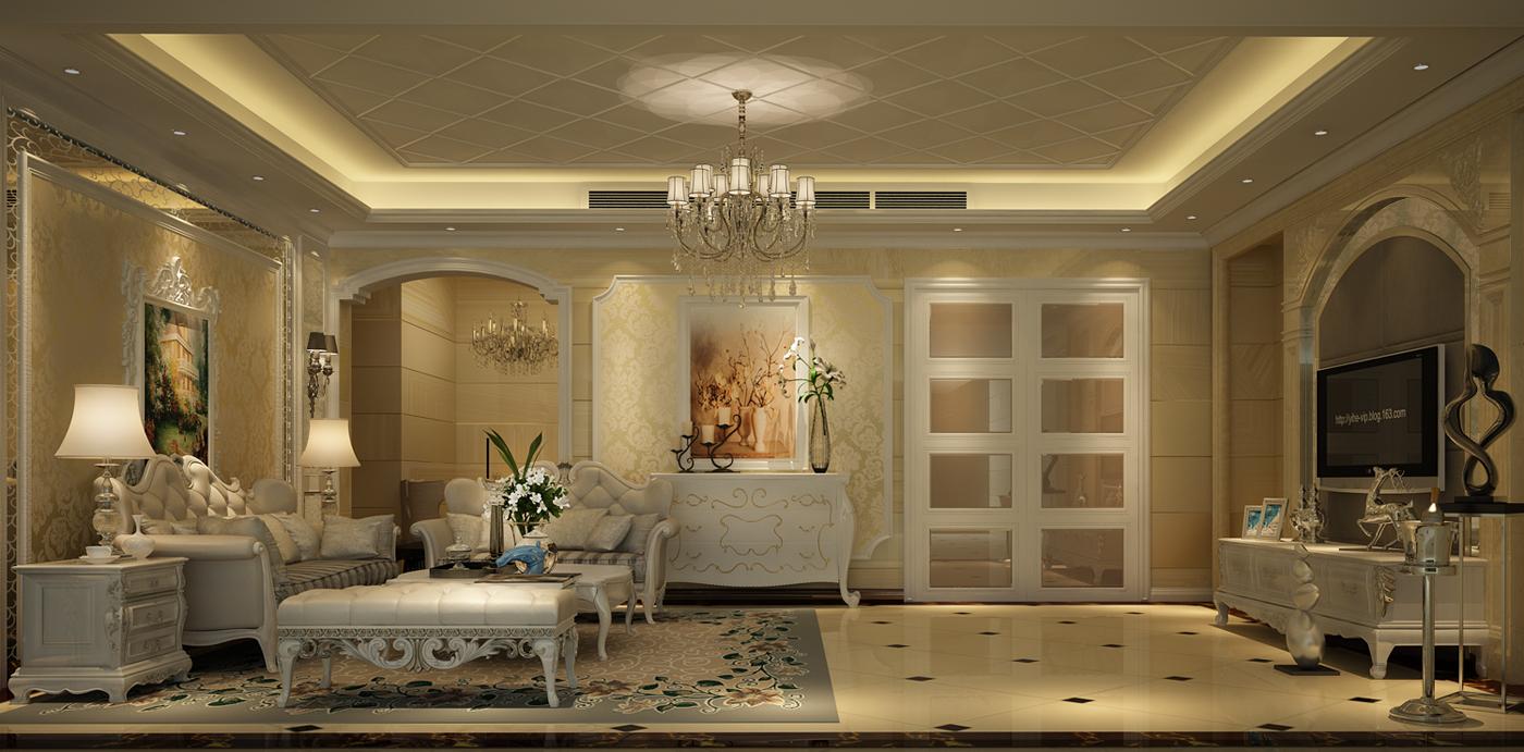 客厅图片来自广州名雕装饰在追求空间的连续性和形体的层次感的分享