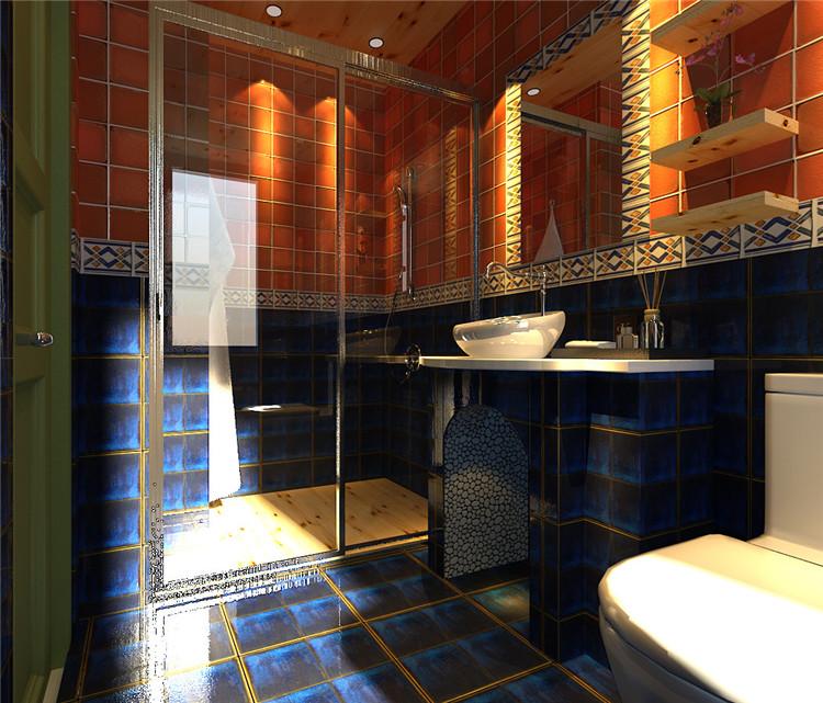 卫生间图片来自百家装饰-小李在克莱斯特160平地中海风格的分享