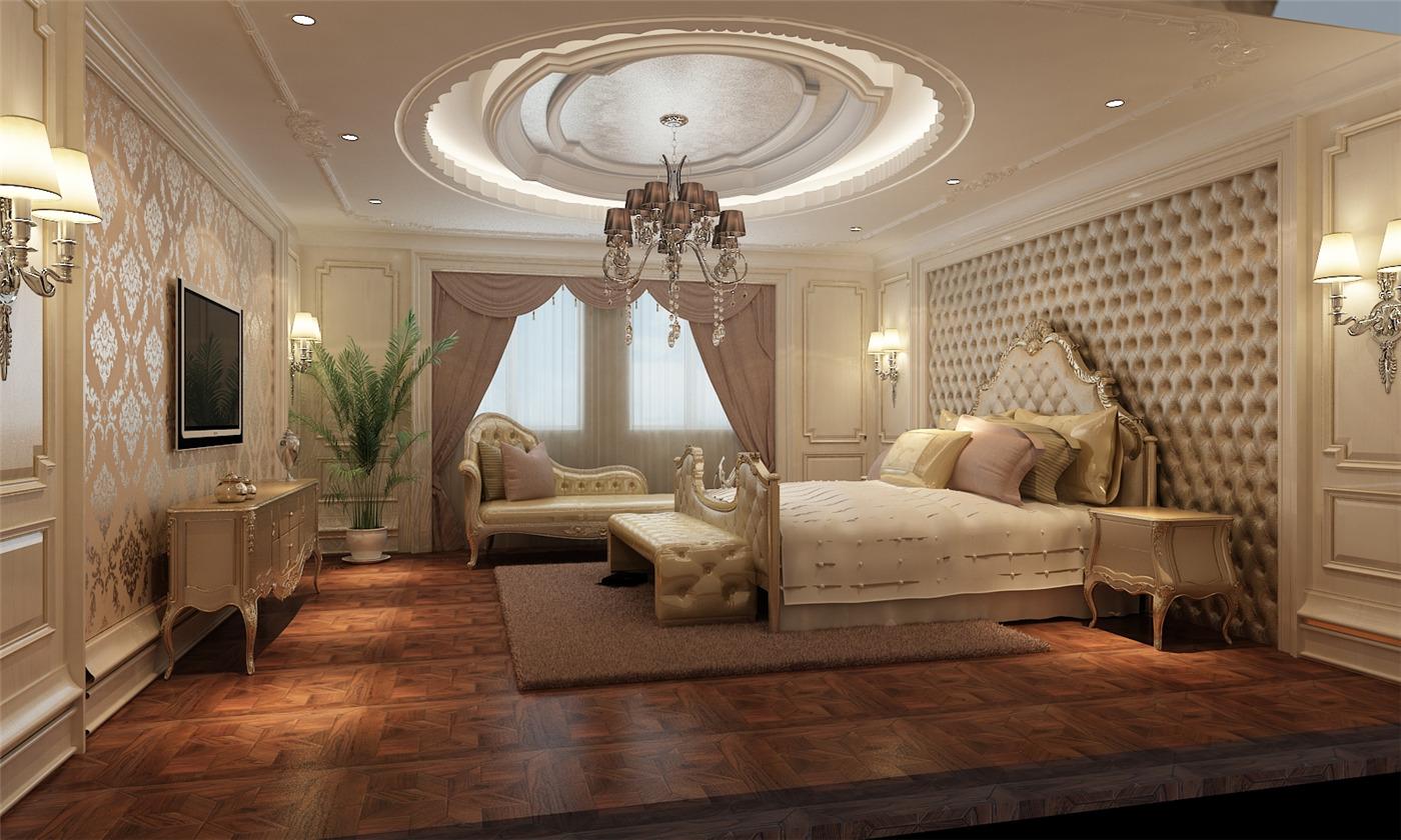 保利叶城 别墅装修 别墅设计 欧式古典 腾龙设计 卧室图片来自腾龙设计在保利叶城172号别墅装修设计方案的分享