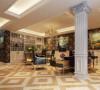 保利叶城239号别墅装修欧式风格设计方案展示,腾龙设计师周灏作品,欢迎品鉴!