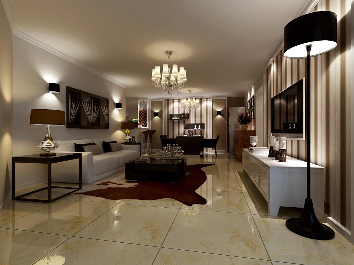 客厅图片来自fy1160721905在力鸿花园三居室现代简约风格案例的分享