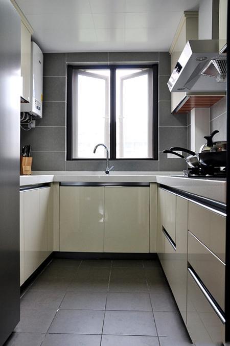 简约 欧式 三居 曹杨三村 厨房图片来自实创装饰上海公司在107平3居简欧美家的分享