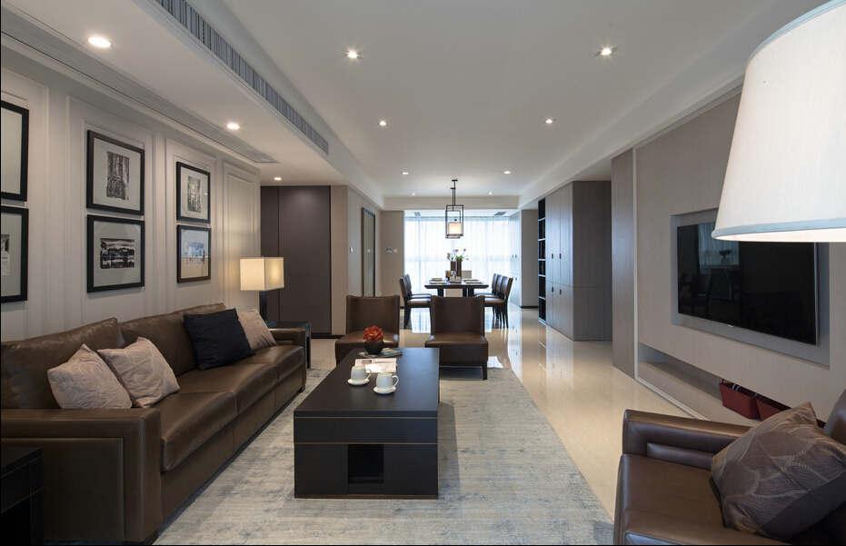 简约 欧式 混搭 四居室 白领 80后 小资 保利康桥 客厅图片来自成都V2装饰在保利康桥时尚混搭风格的分享