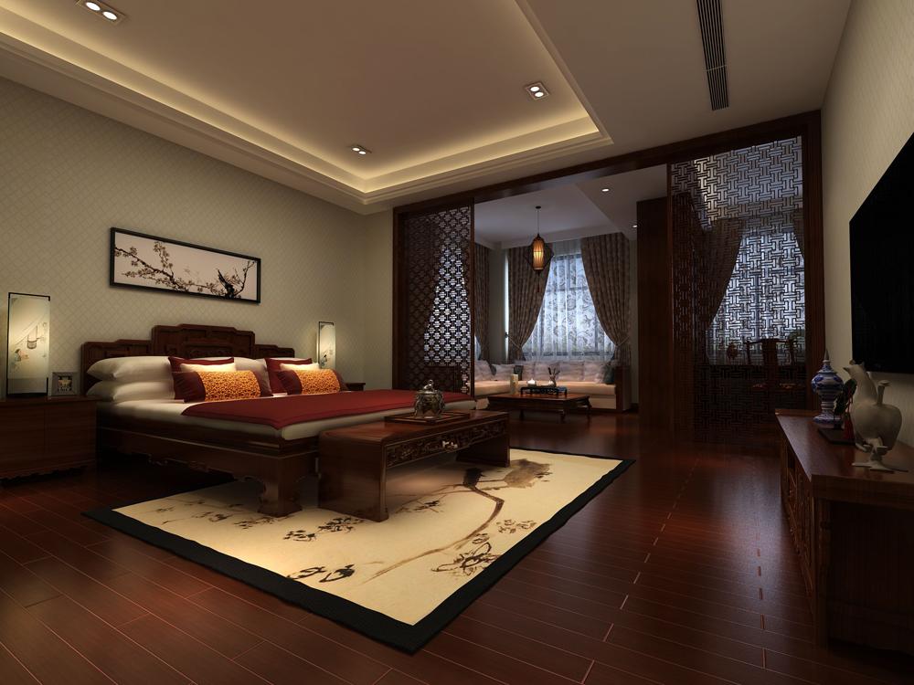 卧室图片来自广州名雕装饰在空间简单明显,设计自然的分享