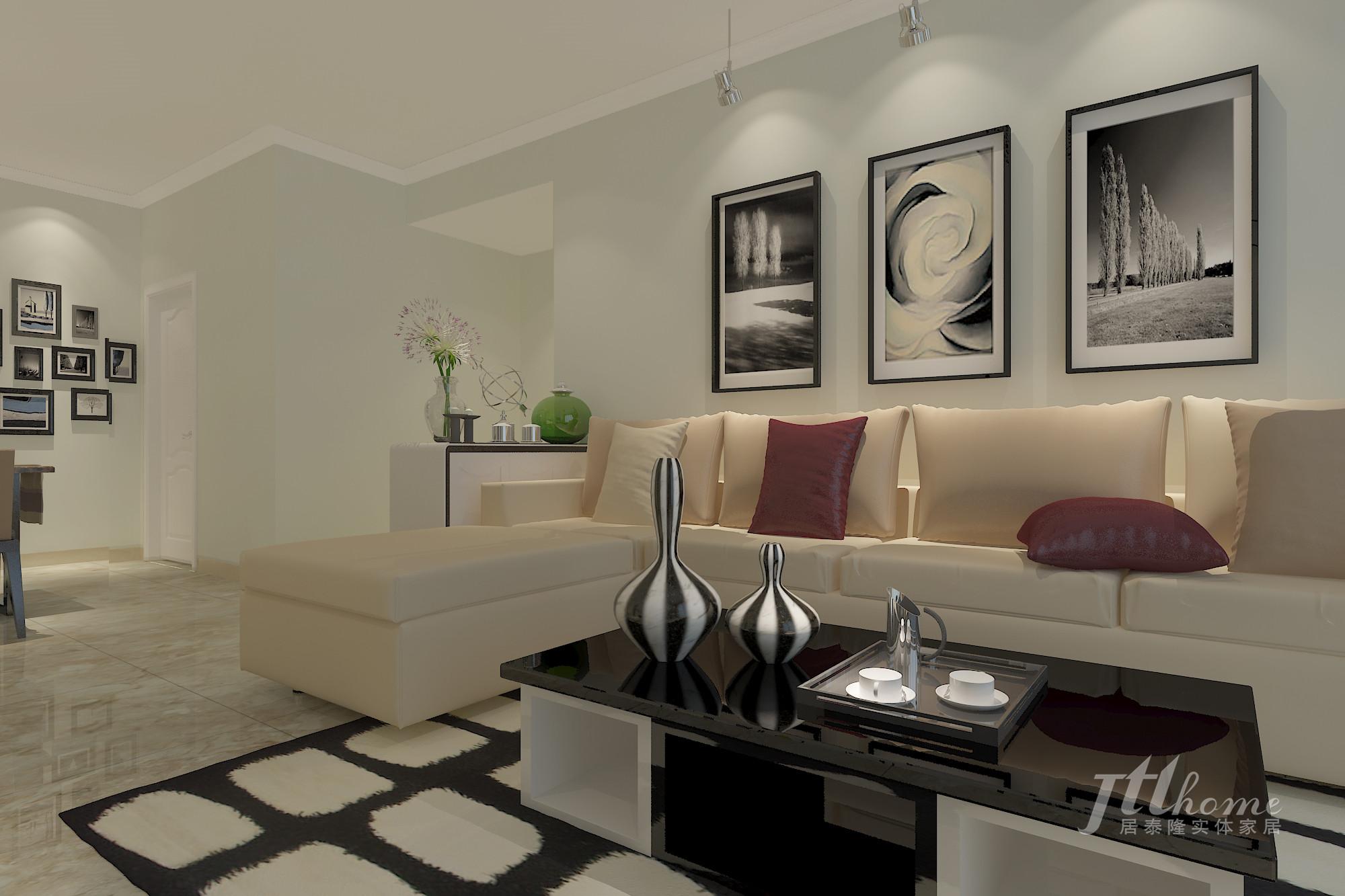 简约 三居 宜居 舒适 温馨 客厅图片来自居泰隆深圳在振业天峦现代简约 三居室的分享