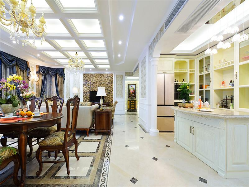 三居 欧式古典 餐厅图片来自北京精诚兴业装饰公司在三里河一区的分享