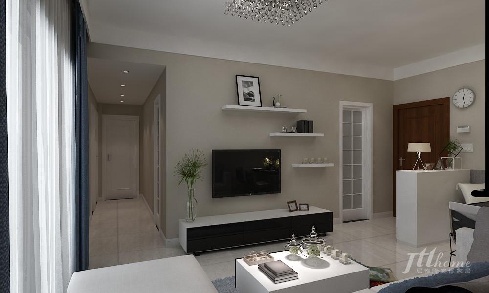简约 三居 宜居 舒适 温馨 客厅图片来自居泰隆深圳在振业天峦 现代简约 三居室的分享