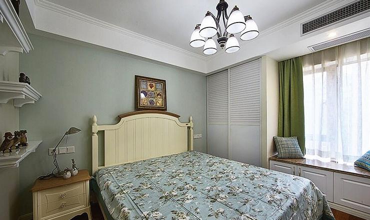 卧室图片来自家装大管家在89平简约纯粹美式 独有一丝幽静的分享