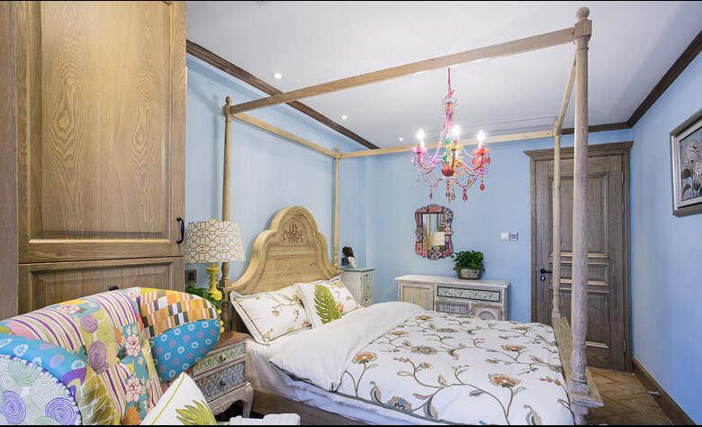 简约 欧式 混搭 四居室 白领 收纳 英郡 普罗旺斯 卧室图片来自成都V2装饰在英郡普罗旺斯风格的分享