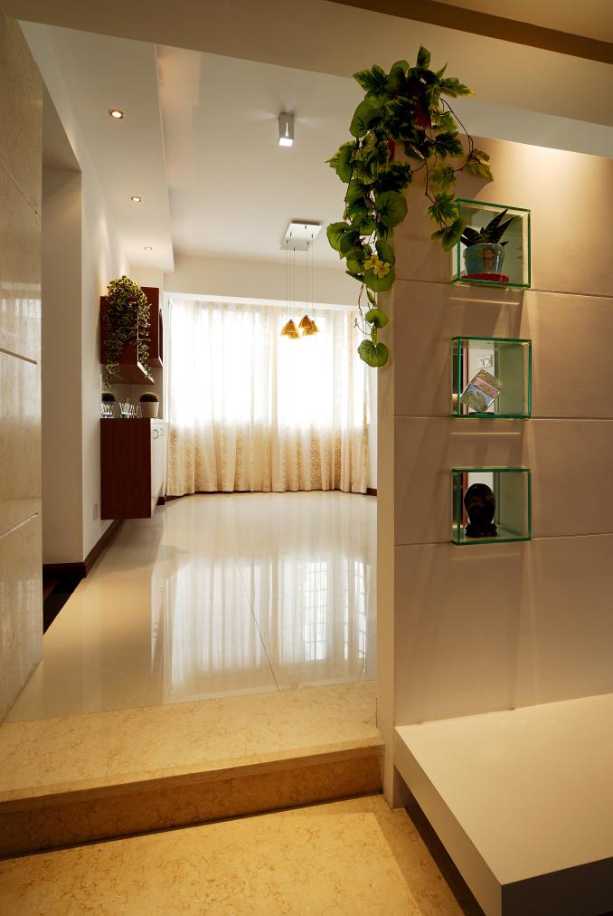 田园 二居 白领 收纳 客厅图片来自武汉豪迪装饰公司在福星华府的分享