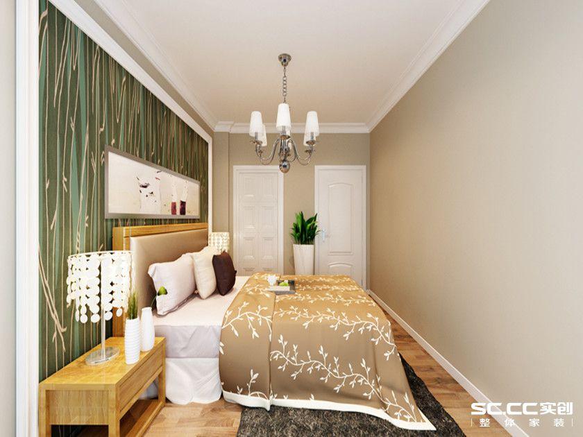简约 三居 白领 收纳 80后 小资 卧室图片来自实创装饰百灵在宁静安逸现代简约风的分享