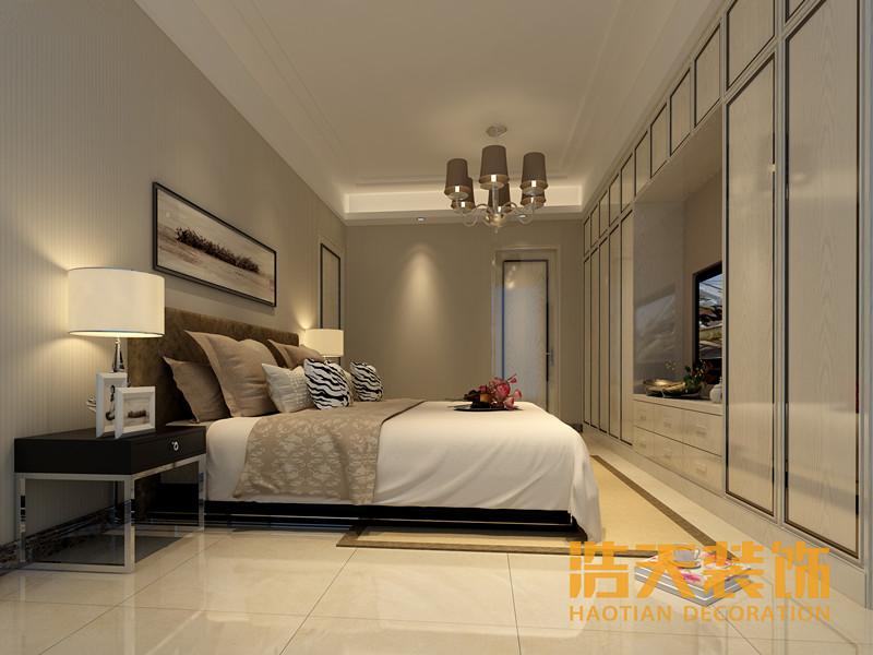 简约 卧室图片来自深圳市浩天装饰在大冲城市花园~王总的分享