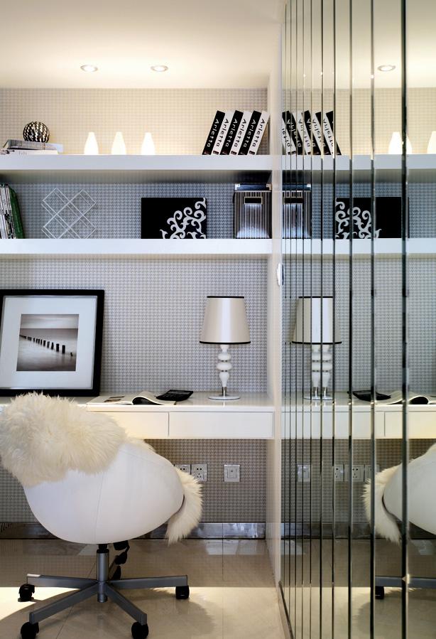书房图片来自成都家和装饰在美式现代的简约时尚的分享