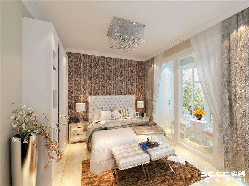 简约 三居 白领 收纳 80后 小资 卧室图片来自实创装饰百灵在将幸福进行到底简约风的分享