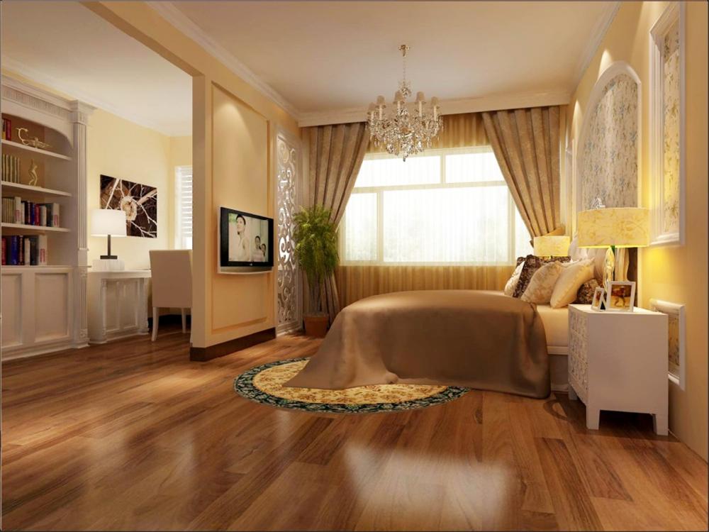 别墅 白领 收纳 旧房改造 80后 小资 卧室图片来自实创装饰完美家装在梨花园262平别墅大宅案例赏析的分享