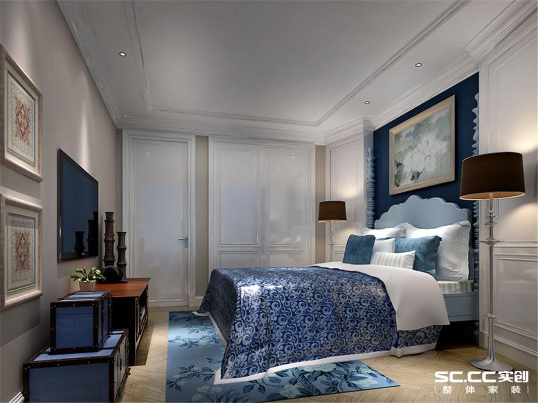金沙湖 高尔夫观邸 地中海 三居 卧室图片来自郑州实创装饰啊静在金沙湖高尔夫观邸地中海三居的分享