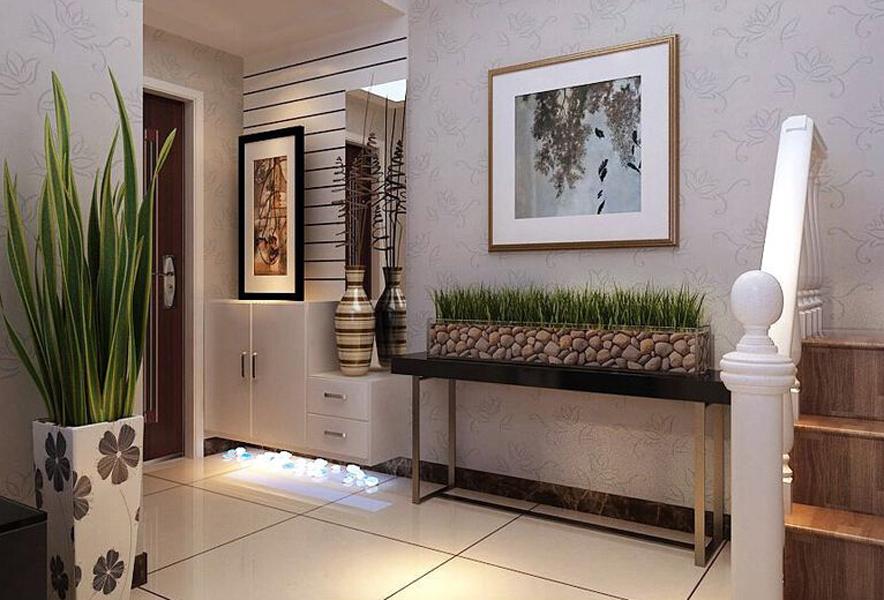 简约 三居 玄关图片来自山西东唐装饰公司在A+5米4的分享
