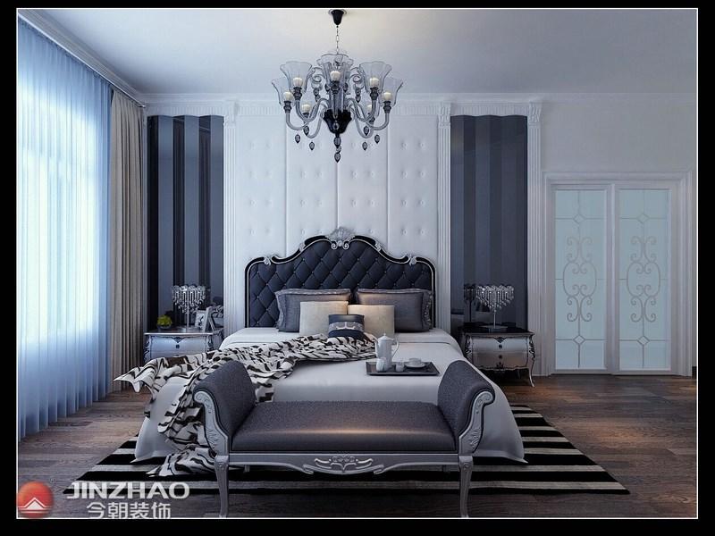 欧式 卧室图片来自阿布的小茅屋15034052435在奥龙湾170平米--简欧的分享